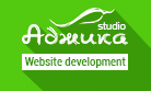 The company «Adjika» - Website development